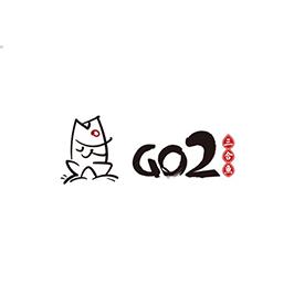 GO2三合鱼LOGO设计