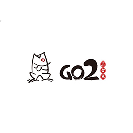 GO2三合魚餐飲LOGO設計