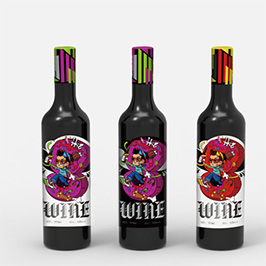 HI8葡萄酒包装设计
