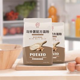 薯宴面粉包裝設計