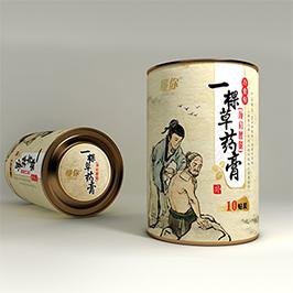 藥膏罐包裝設計