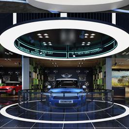 浙江舟山汽车展厅设计