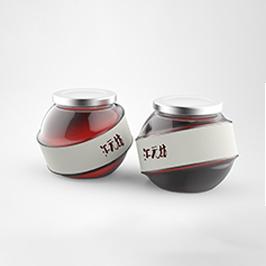 汇元坊食品瓶型设计