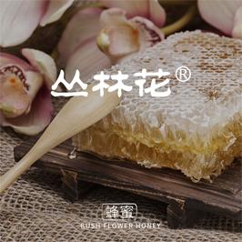 叢林花蜂蜜罐貼設計