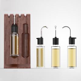 金栀栀子油瓶型设计