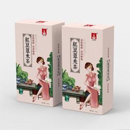 溢香醇红豆薏米包装盒设计