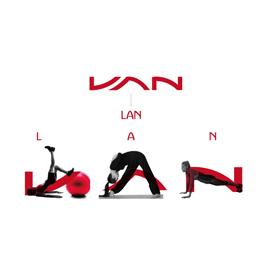 兰运动健身房LOGO设计