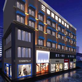 兰亭美舍酒店空间设计
