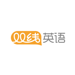 双线英语教育LOGO设计