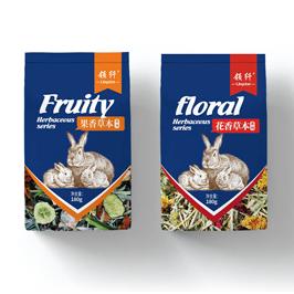 領纖寵物食品包裝袋設計