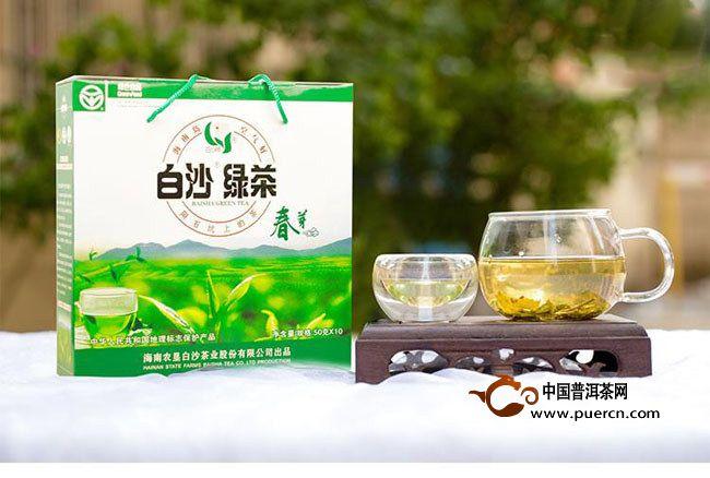白沙绿茶包装设计赏析