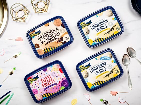 冰淇淋包裝設計作品參考