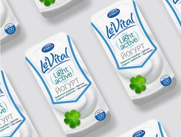 低脂牛奶包裝設計作品欣賞