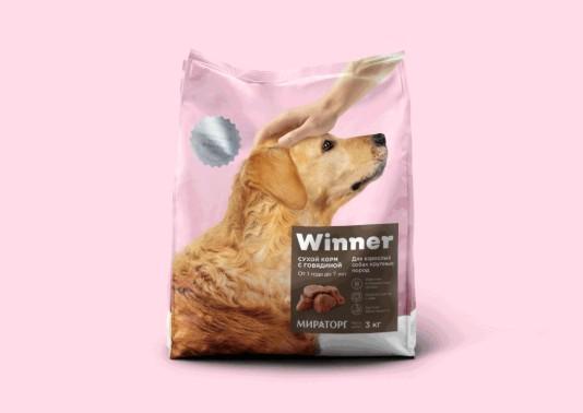 寵物食品包裝設計作品欣賞