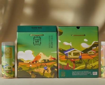 大米禮盒設計要符合產品特性