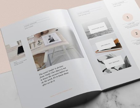 產品畫冊設計也需要有個性
