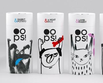 藝點寵物食品包裝設計案例-每天一點創意