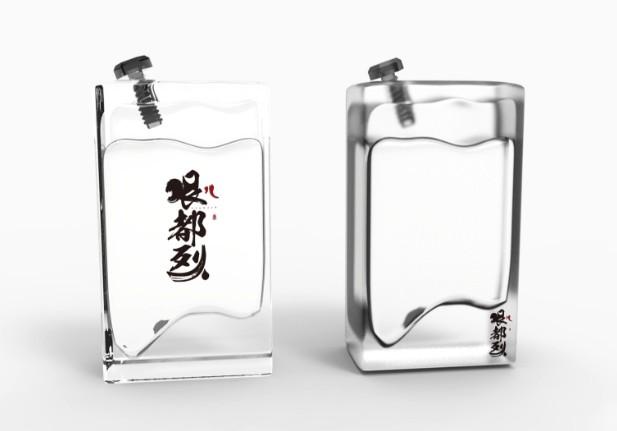 一點一創平面設計網站酒瓶型設計案例賞析