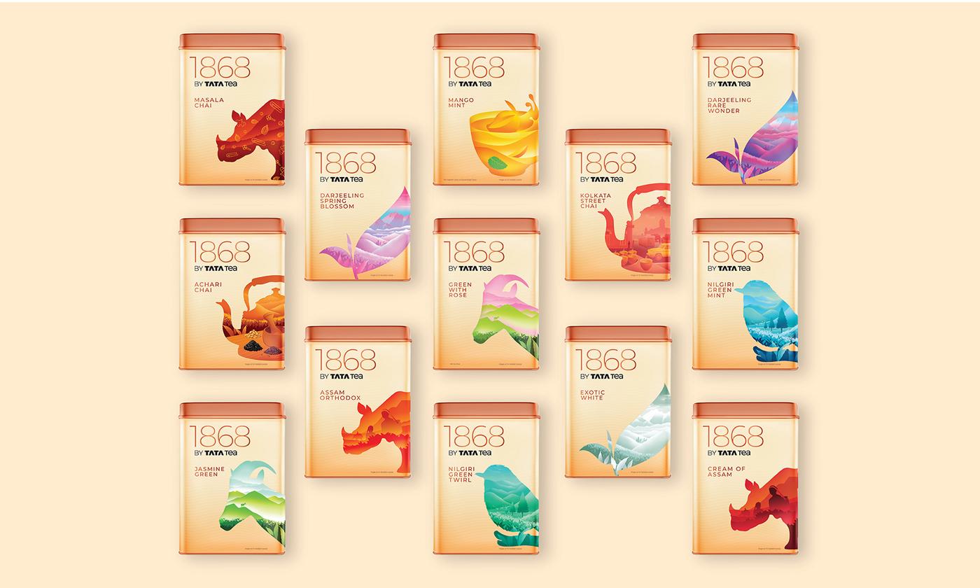 20款茶葉包裝設計案例賞析