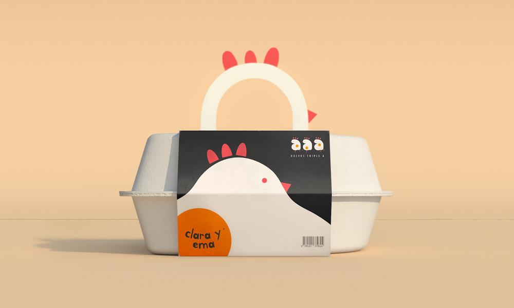 20款雞蛋包裝盒設計案例賞析
