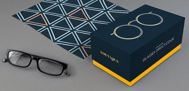英國專業眼鏡購物網站全新品牌形象
