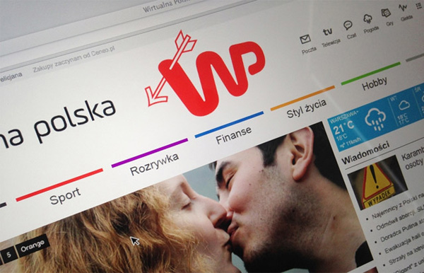 波蘭知名門戶網站新LOGO