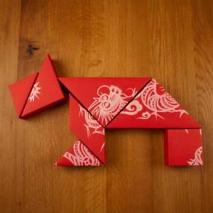 七巧板礼盒创意包装设计游戏玩家
