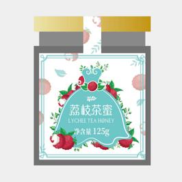 小蓝裙茶叶包装设计