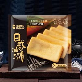 海通日式油扬豆腐包装设计