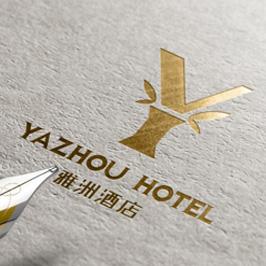 雅洲酒店LOGO设计