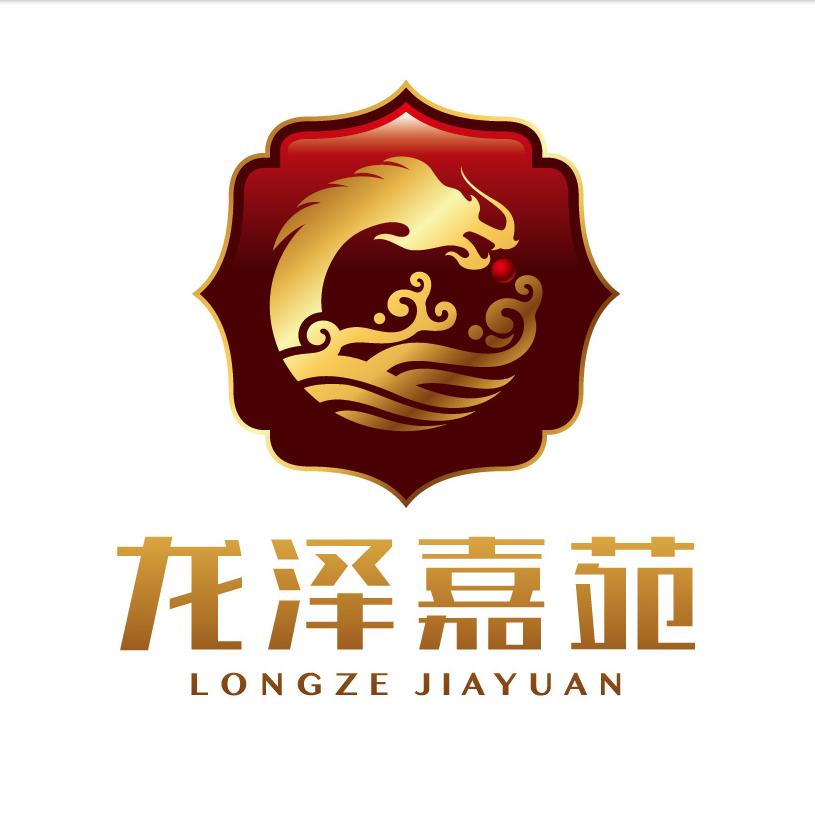 龍澤嘉苑logo設計