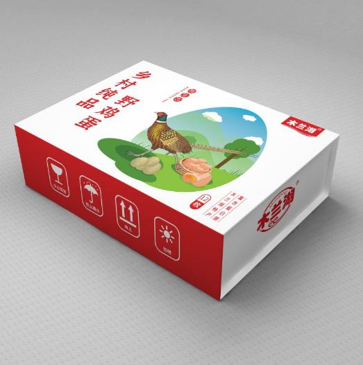 武漢木蘭湖畔農貿公司包裝設計