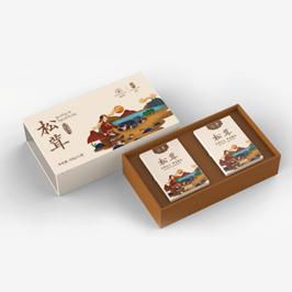 康仙草食品包裝設計
