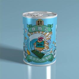 老金磨坊食游记食品瓶型设计