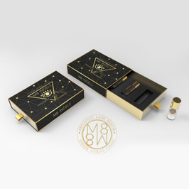 英杰斯睫毛增長化妝品禮盒設計