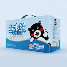 熊本熊紙尿褲包裝設計