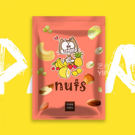 果啪啪食品IP形象及包裝設計