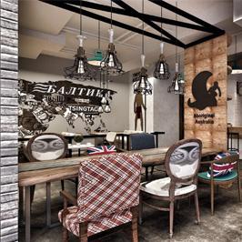 悅級咖啡連鎖店空間設計