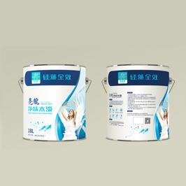 亮龙乳胶漆包装瓶型设计