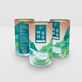 時珍莓茶茶葉葉包裝設計