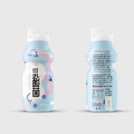 剛勁乳酸菌飲品包裝設計