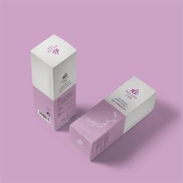 长春紫罗兰化妆品包装盒设计