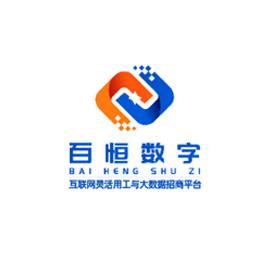 江西百恒數字互聯網logo設計