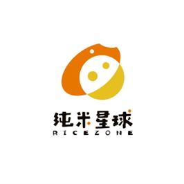 純米星球食品logo設計