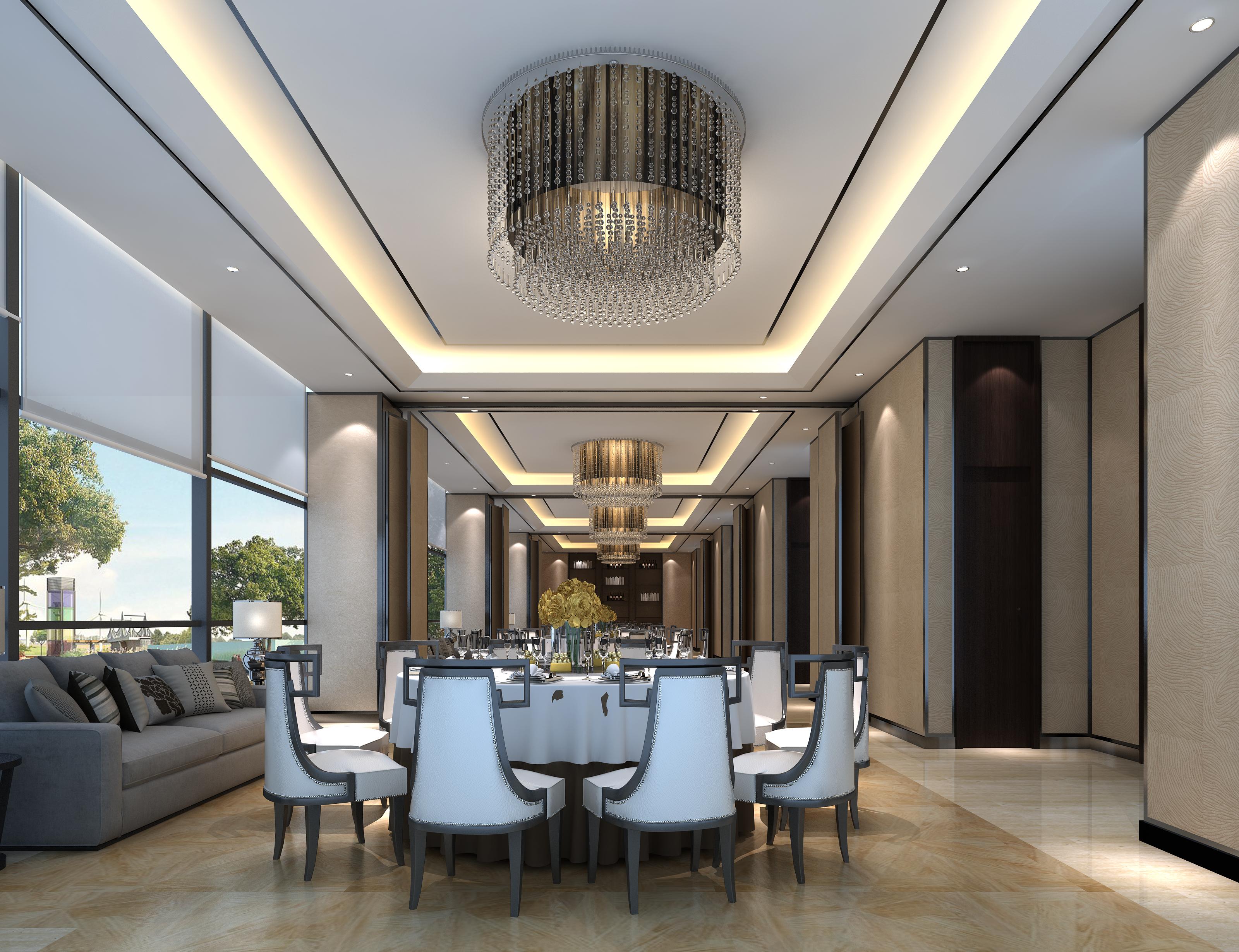 重慶科力大酒店空間設計