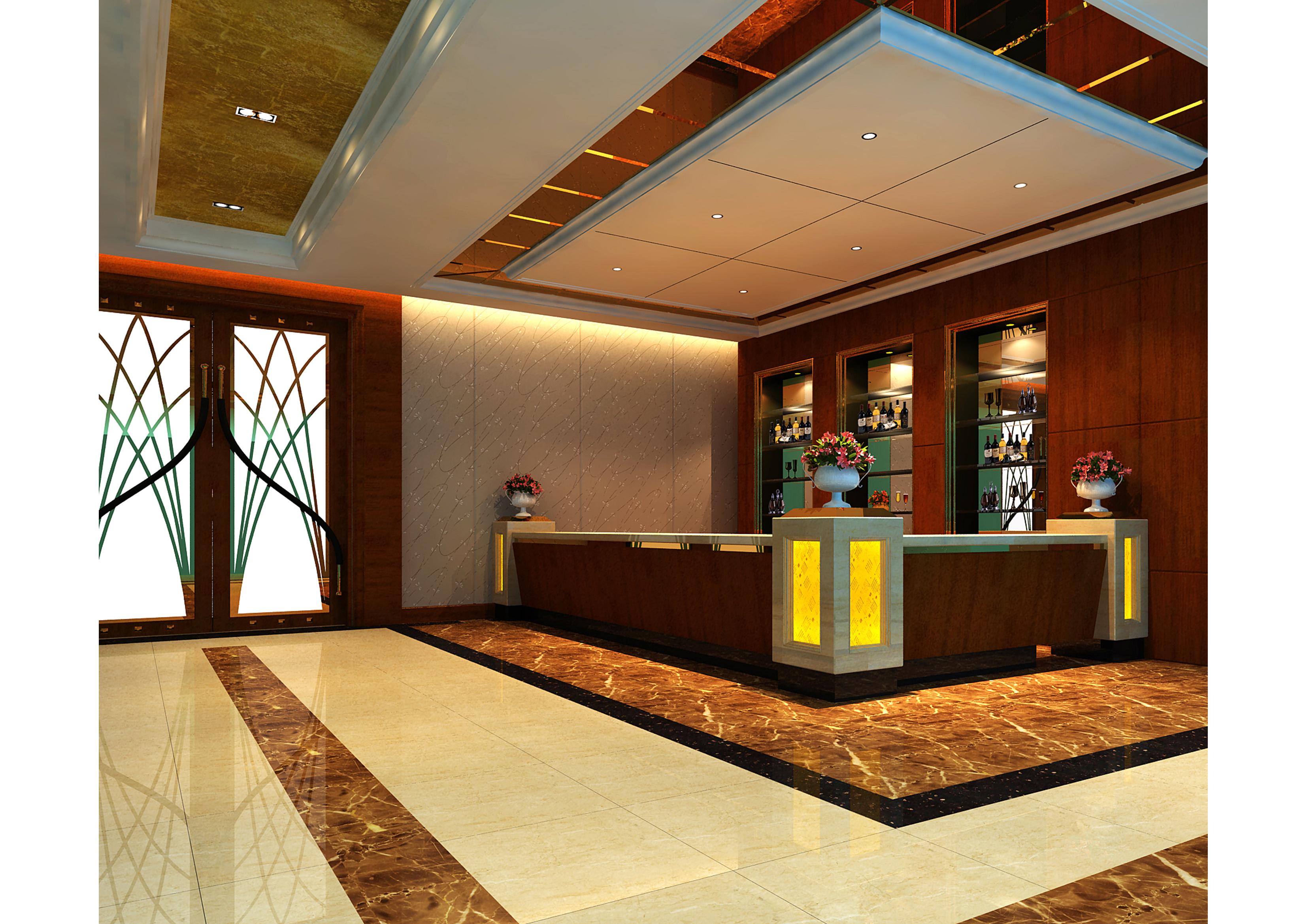 新密酒店會所空間設計