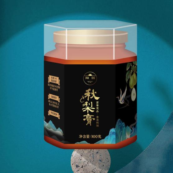 靈璧陽園秋梨膏包裝設計