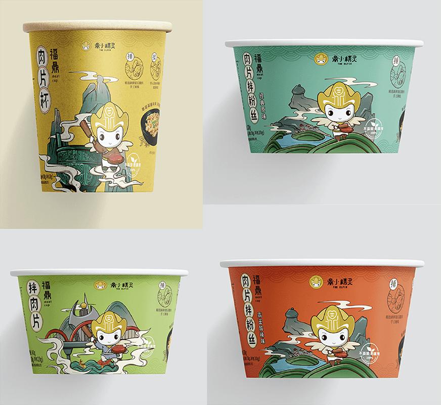 福建湯霸王食品包裝設計
