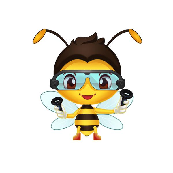 江西乐安蜜蜂IP形象设计