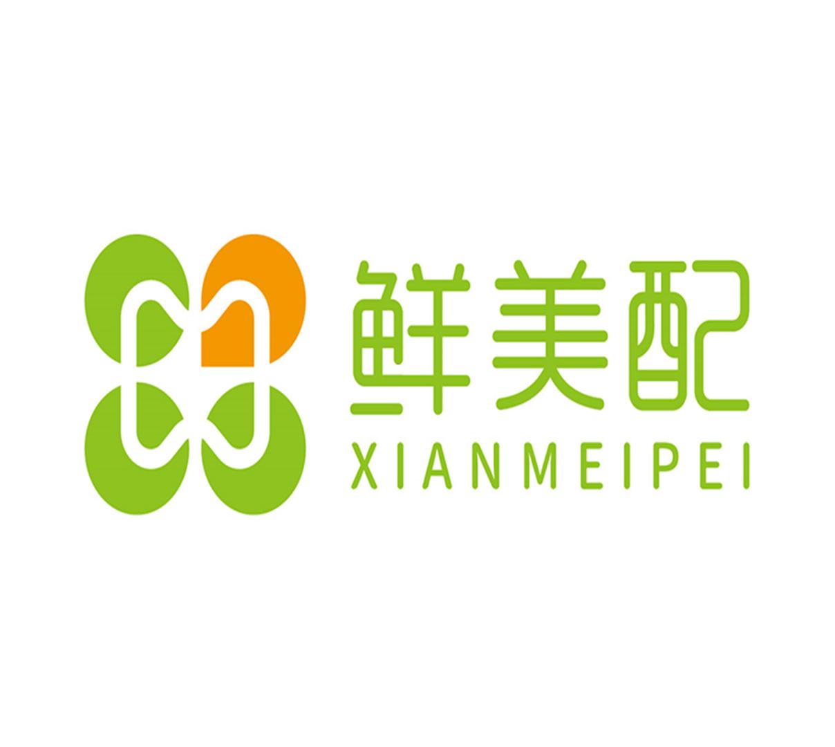 鮮美配logo設計